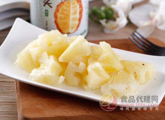 菠萝罐头的功效有哪些?美味又健康让你瞬间爱上它