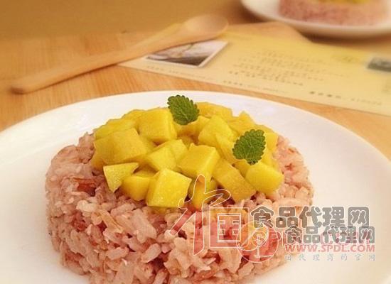 泰式椰汁芒饭