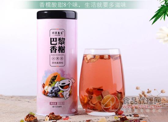 泡出来的真果粒,祁草养生花果茶价格多少?