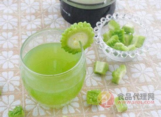 苦瓜汁的做法大盘点,这样做出来的苦瓜汁超好喝!