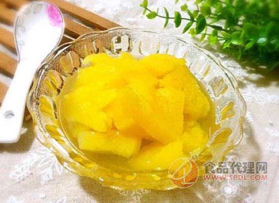 菠萝罐头的功效有哪些?早知道就每天多吃一点了