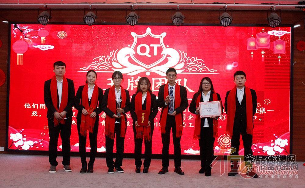 青天科技集团2018年度王牌团队