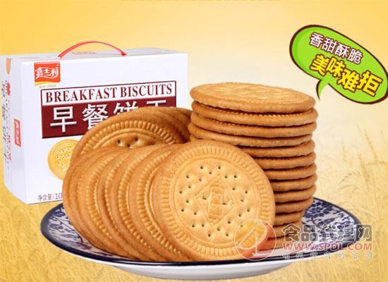 告别饥饿,嘉士利早餐饼干的价格是多少?