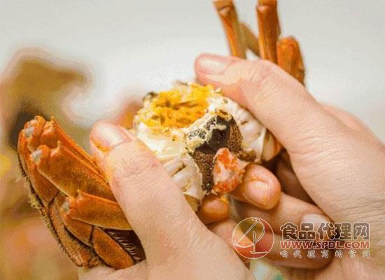 蟹膏的营养价值超高,爱吃螃蟹的人有福了!