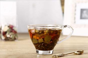 玫瑰荷叶茶