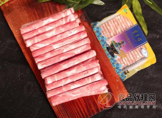 美味营养好吃还不膻,东来顺羊肉卷价格多少?