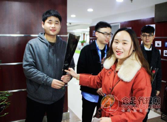 """青天科技集团3.8""""鲜花送女王""""专场活动"""