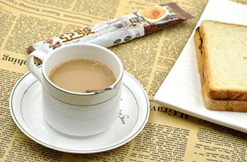 速溶白咖啡