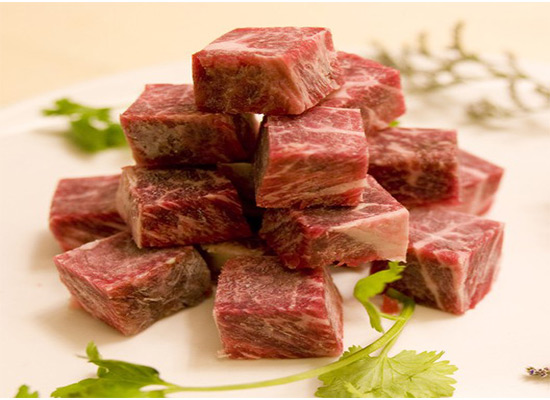 澳洲冷冻牛肉粒价格多少?