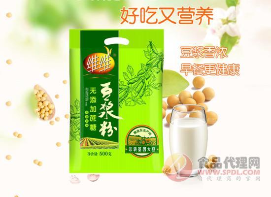 喝出熟悉的豆浆味,维维豆浆粉价格多少?