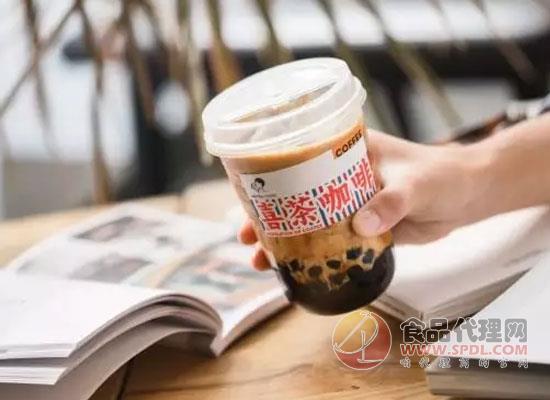 喜茶包装走起港式风,?#35748;?#39278;品新增咖啡元素