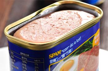 午餐肉罐头图片