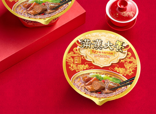 用肉打江山,统一满汉大餐方便面价格多少?