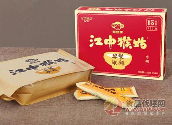猴姑牌营养早餐,江中猴姑米稀多少钱一箱?