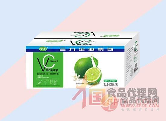 果潘维C补水液青柠味