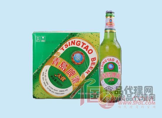 青岛啤酒600ml图片