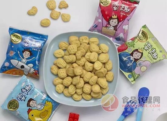 徐福记耍趣儿童饼干上线,不仅好吃还很好玩!