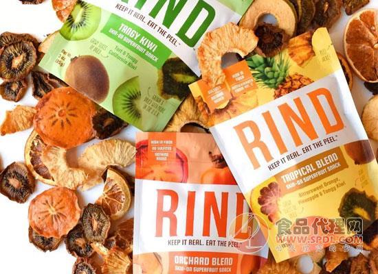 果皮干零食在国外大受追捧,并成为健康零食的标配!