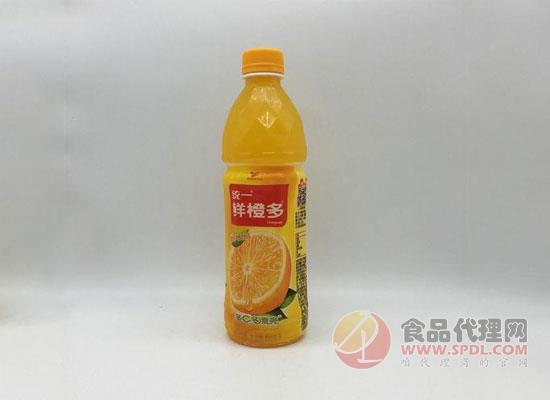 面对果汁市场的不如意,统一鲜橙多如何挽回业绩颓势