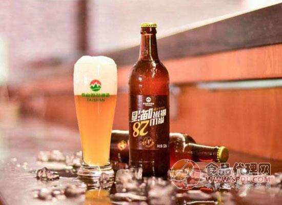 泰山原浆28天啤酒口感如何?适合什么时候喝?