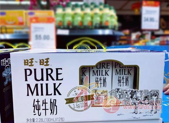 旺旺纯牛奶新品图片