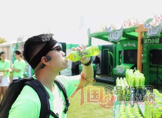 康师傅绿茶赞助跑步现场图片
