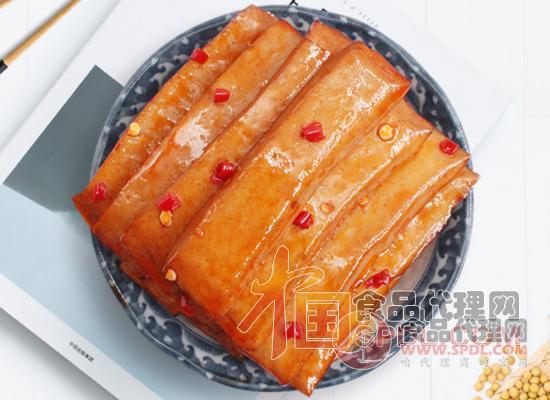 香香嘴豆腐干图片