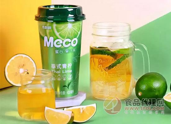Meco蜜谷果汁茶营收破亿,它背后的杀手锏是什么?