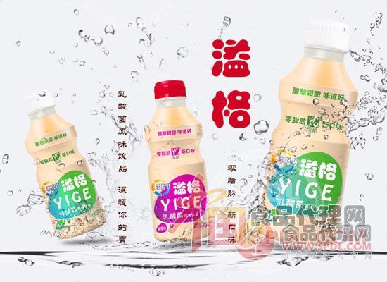 溢格乳酸菌饮品图片