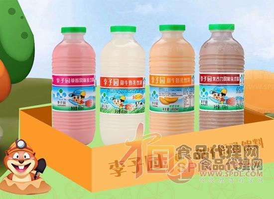 李子園甜牛奶乳飲料圖片