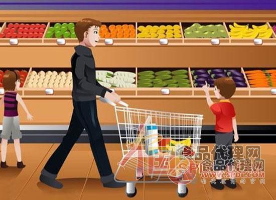 超市卡通图