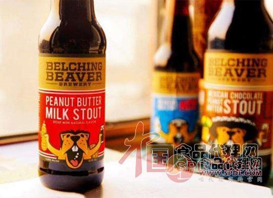 打嗝海狸精酿啤酒图片
