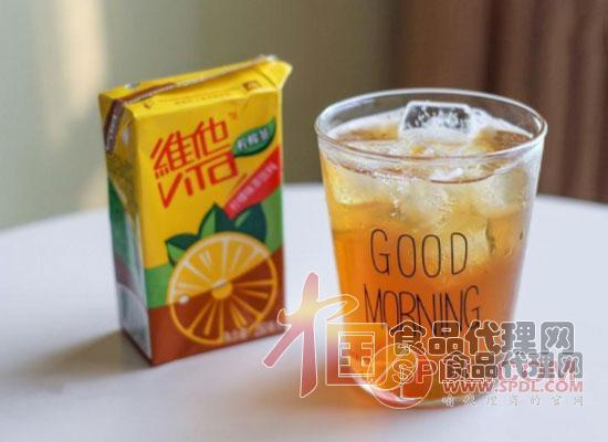 维他柠檬茶图片