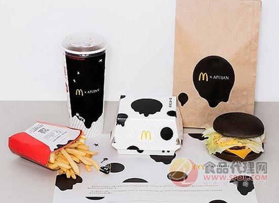 麦当劳走潮流路线,包装将以黑白为主调!