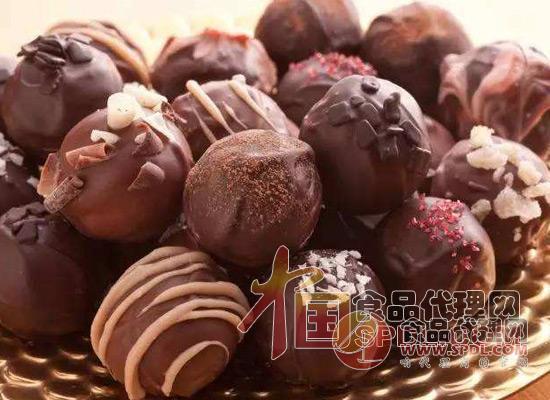 巧克力球图片