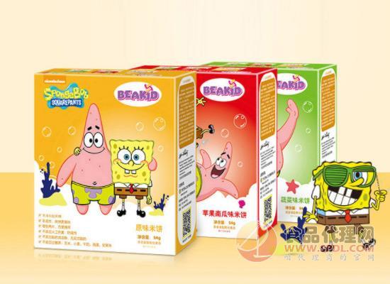 海绵宝宝米饼价格多少?儿童零食健康为主!