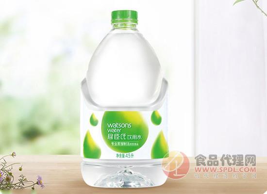 屈臣氏蒸馏水4.5l价格多少?高温蒸馏还你健康!