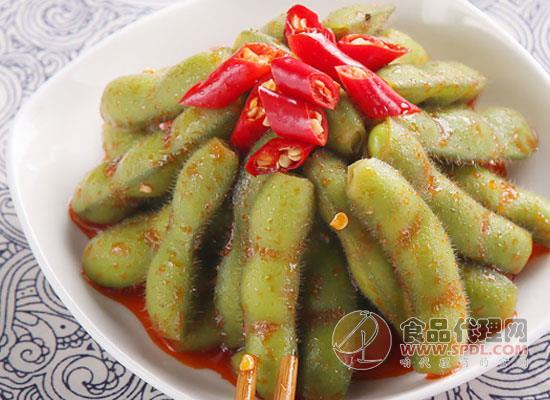 营养美食多吃不胖,飘零大叔香辣毛豆价格是多少