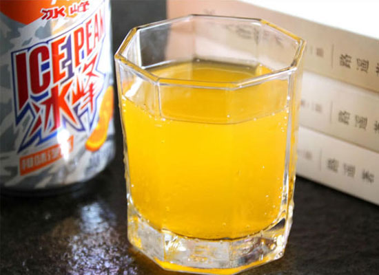 冰峰橙味汽水怎么样?带你品味陕西特色老汽水