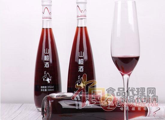 山楂酒图片