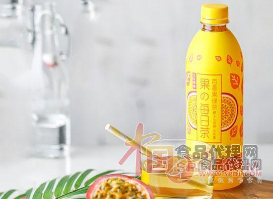百香果绿茶图片