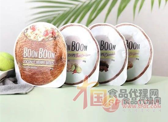 BOONBOON椰子饼图片