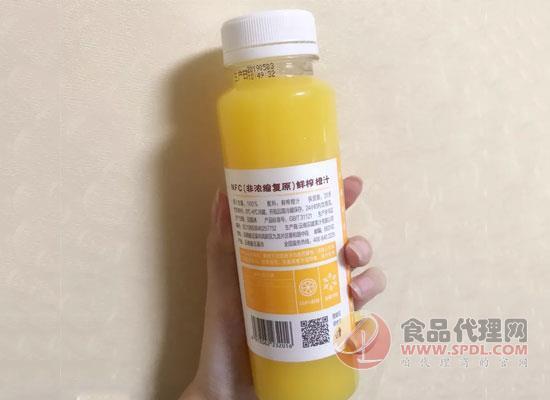 一瓶18.8元的褚橙NFC果汁憑什么賣的這么貴?