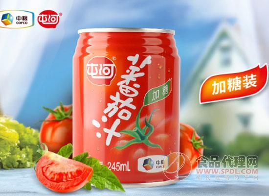 中粮屯河番茄汁饮料价格是多少?健康活力喝出来