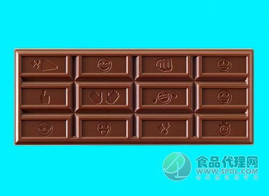 好时巧克力上印聊天表情,这样的趣味营销惹众爱!