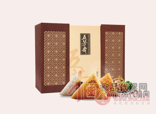 五芳斋粽子礼盒图片
