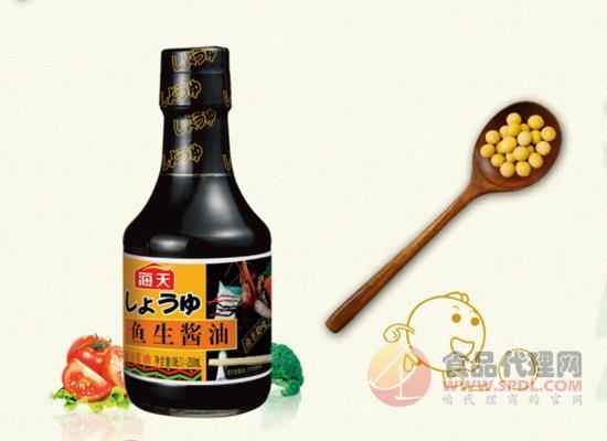 海天鱼生酱油价格多少?吃鱼生怎能少了它