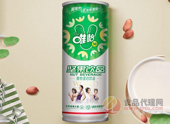 唯怡香浓植物坚果豆奶好在?#30566;?年轻人爱喝的豆奶