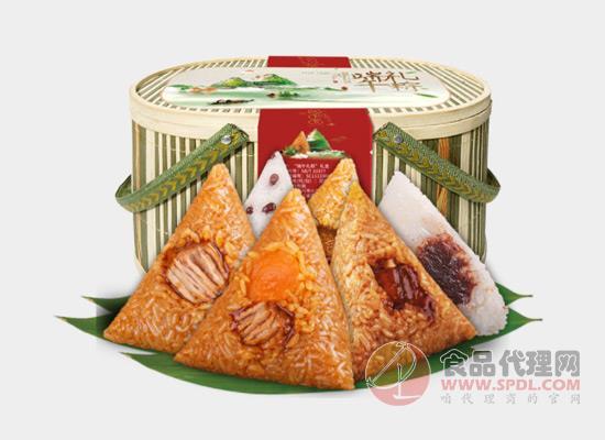 味禧魔方竹篮粽子礼盒价格多少?为什么大家会选它?