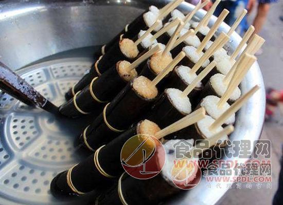 竹筒粽子图片